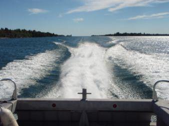 MetalCraft Marine FireStorm 40 high-speed aluminum fireboat