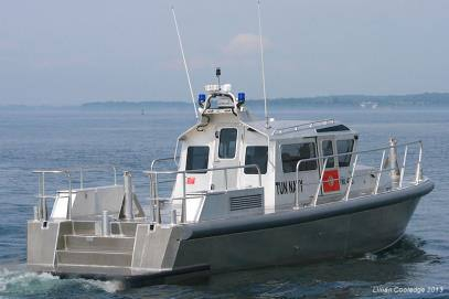 High Speed Aluminum Patrol Boats Manufactured by MetalCraft