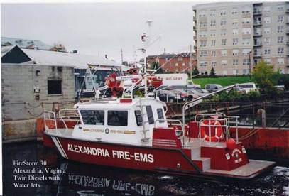High-Speed Aluminum Fireboats Manufactured by MetalCraft Marine