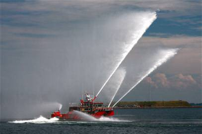 FairFax VA MetalCraft Marine FireStorm 69 High Speed Aliminum Fireboat
