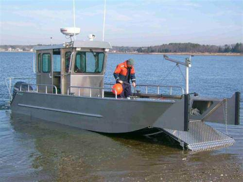 Aluminum Barges Manufactured by MetalCraft Marine